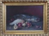 Zátiší se sumcem, rybou a cibulí (1).JPG