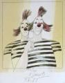 Karel Beneš - Dva klauni, pruhované tričko (2).JPG
