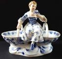 Míšeňská porcelánová figurální miska, na sůl a pepř (1).JPG