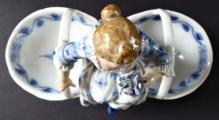 Míšeňská porcelánová figurální miska, na sůl a pepř (6).JPG