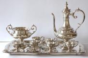 Stříbrná kávová souprava - Victor Nuber, Vídeň (1).JPG