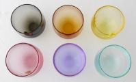 Barevné skleničky Culbuto - Rudolf Eschler, Moser (3).JPG