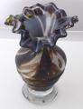 Váza s mléčným a hnědým sklem  (2).JPG