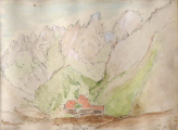 Charlotta Pipenhagenová - Stavení v horách , Monte Cristallo (2).JPG