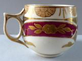 Ručně malovaný, zlacený moka šálek - Carl Fr. Boseck, Haida (4).JPG