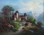 Zámeček v horské krajině (3).JPG