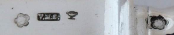 Dva stříbrné menší nože - Mayers Söhne, Vídeň 1880 - 1900 (4).JPG