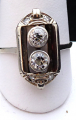 Art deko prsten s diamanty, bílé zlato - brilianty 0,58 ct  (1).JPG