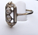 Art deko prsten s diamanty, bílé zlato - brilianty 0,58 ct  (3).JPG