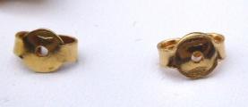 Náušnice bílé a žluté zlato, perly - 0,15 ct brilianty (7).JPG