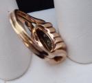 Zlatý prsten s vlnkami a brilianty cca 0,20 ct (4).JPG