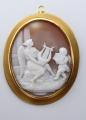 Zlatá brož a závěs, s velkou kamejí (1).JPG