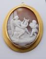 Zlatá brož a závěs, s velkou kamejí (2).JPG