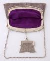 Stříbrná kabelka s peněžkou - Lutz & Weiss, Pforzheim (3).JPG