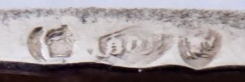Stříbrná kabelka s peněžkou - Lutz & Weiss, Pforzheim (6).JPG