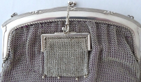 Stříbrná kabelka s peněžkou - Lutz & Weiss, Pforzheim (7).JPG