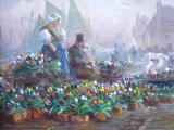 Jaroslav Pokorný - Na trhu s tulipány, Holandsko (3).JPG