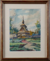 Karel Toman - Kostel v Trebušanech, Ukrajina (1).JPG