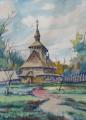 Karel Toman - Kostel v Trebušanech, Ukrajina (3).JPG