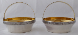 Párové stříbrné a zlacené košíčky - Tallin, Estonsko (1).JPG