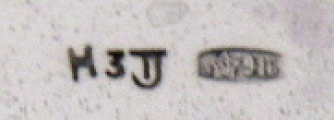 Párové stříbrné a zlacené košíčky - Tallin, Estonsko (6).JPG