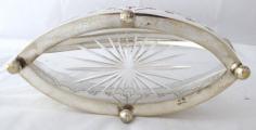 Postříbřený secesní košík se skleněnou mísou - Sandrik (6).JPG