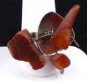 Stříbrný prsten s třemi přírodními jantary (6).JPG