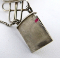 Stříbrný náramek s oválnými žlutými medailony (3).JPG