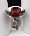 Stříbrný prsten s jantarem - Polsko 1963 - 1980 (2).JPG