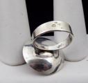 Stříbrný prsten s jantarem - Polsko 1963 - 1980 (3).JPG