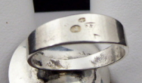 Stříbrný prsten s jantarem - Polsko 1963 - 1980 (4).JPG