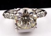 Platinový prsten - Champagne briliant 3,10 ct (3).JPG