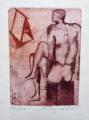 Naděžda Synecká - Flétnista, Quijote, Mužský akt (4).JPG
