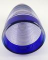 Váza, kobaltové a křišťálové sklo - sklárny Josefodol (4).JPG