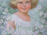 Oldra ( Oldřich ) Vlach - Portrét holčičky (3).JPG