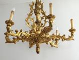 Zlacený řezbovaný dřevěný lustr (2).JPG