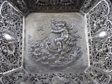 Stříbrná dekorativní mísa, s figurálním výjevem - Christoph Widmann, Pforzheim (2).JPG