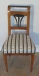 Biedermeierová třešňová židle
