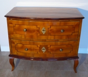Commode low with two drawers