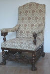 Chair, throne Neo-Renaissance
