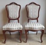 Párové židle Louis-Philippe
