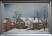 František Michl - Zima ve vesnici
