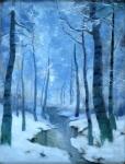 Vladimir Ralenovsky - Birches in winter