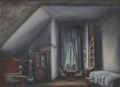 František Tröster - Interiér pokoje
