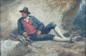 Josef Kessler - Resting man