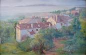 Jan Karel Janovsky - Morning from Kvarner, Opatija