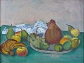 Jaroslav Riedl - Zátiší s ovocem