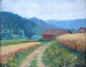 Frantisek Parizek - The road through the valley