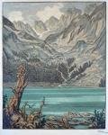 Karel Vik - Jezero v horách