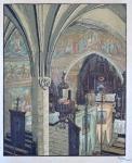 Karel Vik - Interier kostela